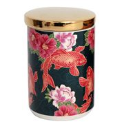 Luxe By Peter's - Koi Fish Canister Pink 15cm