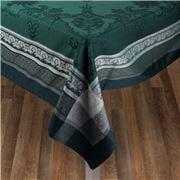 Garnier-Thiebaut - Fontainebleau D/Green T/Cloth 174x364cm