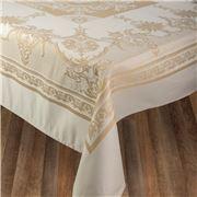 Garnier-Thiebaut - Eleonore Doré Tablecloth 174x364cm