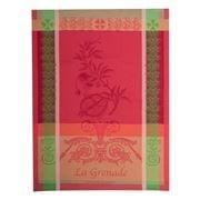Garnier-Thiebaut -  Grenade Rose Tea Towel 56x77cm