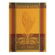 Garnier-Thiebaut - Le Mais Jaune Tea Towel 56x77cm