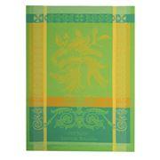 Garnier-Thiebaut - Main De Bouddha Vert Tea Towel 56x77cm