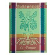 Garnier-Thiebaut - Panais Vert Tea Towel 56x77cm