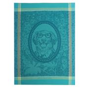 Garnier-Thiebaut - Monsieur Chien Bleu Tea Towel 56x77cm