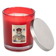 Candle Bar - Religious Icon Livani St. Nicholas Red Candle