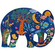 Djeco - Elephant Puzzle Art 150pce