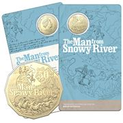 RA Mint - 2020 50c Uncirc. Coin The Man from Snowy River