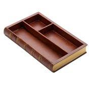 The Original Book Works - Book Desk Organiser Brown