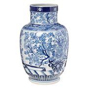 Florabelle - Zhu Neck Vase Blue & White
