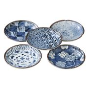 Concept Japan - Somekoubou Small Plate 12cm Set 5pce