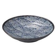 Concept Japan - Seikaiha Dinner Plate 23cm