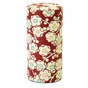 Concept Japan - Umeroman Tea Canister Dark Red 15.5cm