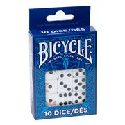 Games - Bicycle Dice Set 10pce