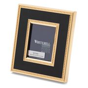 Whitehill - Empire Black & Gold Toned Frame 6.2x4.8cm