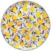 Ecology - Punch Lemon Large Round Platter 36cm