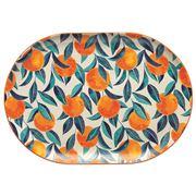 Ecology - Punch Orange Large Oval Platter 40cm
