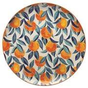 Ecology - Punch Orange Round Platter Large 36cm