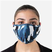 Element Mask - Adult Mask Camo Blue