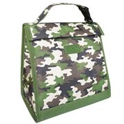 Sachi - Insulated Junior Lunch Pouch Camo Green