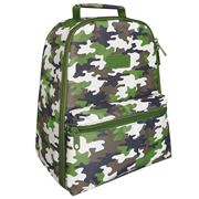 Sachi - Insulated Backpack Camo Green
