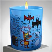 Ligne Blanche - Jean-Michel Basquiat `Blue' Candle 140g