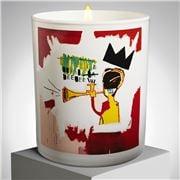 Ligne Blanche - Jean-Michel Basquiat Candle 'Trumpet' 140g