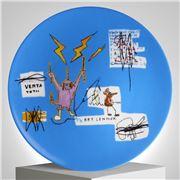 Ligne Blanche - Basquiat  'Venta' Limoges Plate 21cm
