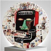 Ligne Blanche - Basquiat 'Glenn' Limoges Plate 21cm