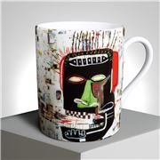 Ligne Blanche - Jean-Michel Basquiat Limoges Mug 'Glenn'