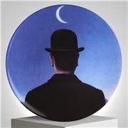 Ligne Blanche - Magritte Le Maitre d'Ecole Limoges Plte 21cm