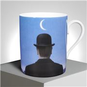 Ligne Blanche - Magritte Le Maitre d'Ecole Limoges Mug