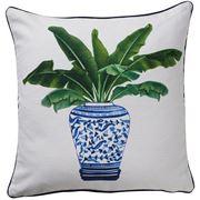 Paloma - Palmy Ginger Jar Cushion 50x50cm
