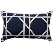 Paloma - Milano Tile Cushion Navy 30x50cm