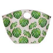 A.Trends - Beach Bag Spotty Monstera Pink