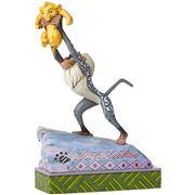 Disney - Raffiki & Simba On Pride Rock Figurine