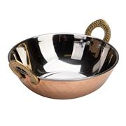 Peter's - Balti Dish Stainless Steel & Copper Plated 17.5cm