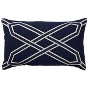 Paloma - Navy Nantucket Cushion 30x50cm