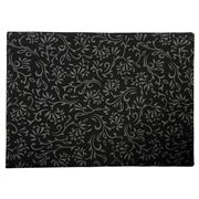 Ogilvies Designs - Le Jardin Placemat Black 33x45cm