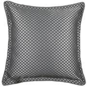 Davinci - Lancaster Euro Cushion Cover Silver 65x65cm