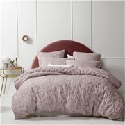 Logan & Mason - Prairie Blush Quilt Cover Set Queen 3pce