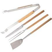 Laguiole - Louis Thiers Artisan Handles BBQ Bamboo Set 4pce