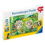Ravensburger - Sweet Koalas And Pandas Puzzles 2x24pce