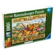 Ravensburger - Dinosaurs Puzzle 100pce