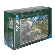 Ravensburger - At The Waterhole Jigsaw Puzzle 18000pce