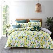 Bianca - Lemons  Queen Quilt Cover Set 3pce