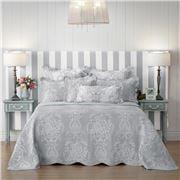 Bianca - Florence Grey Queen Bedspread 3pce