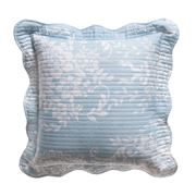 Bianca - Florence Blue Square Cushion