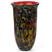 Zibo - Gorse Coloured Glass Vase