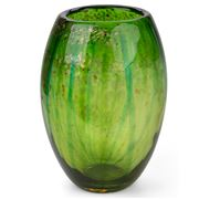 Zibo -  Gywdyr Green Glass Vase