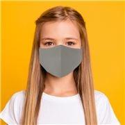 Element Mask - Kids Mask Silver